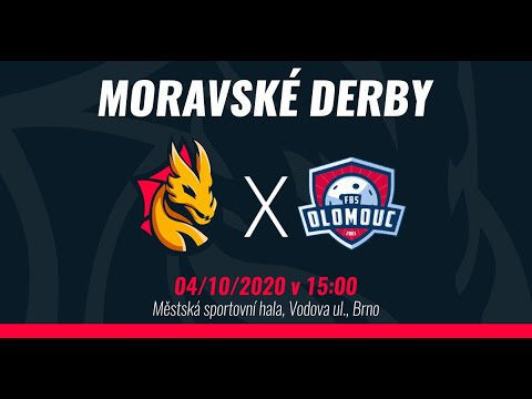 SESTŘIH: K1 Florbal Židenice vs. FBS Olomouc 2:5