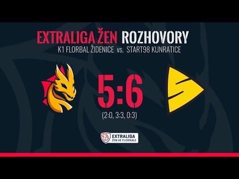 ROZHOVORY: K1 Florbal Židenice - Tigers Start98 Kunratice 5:6